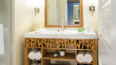 Margaritaville Resort Casino Standard Hotel Room Bathroom vanity
