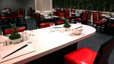 Bar Seating at Bamboo Asian Cafe