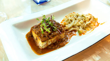 entree at Jimmys Steak & Seafood Margaritaville Casino