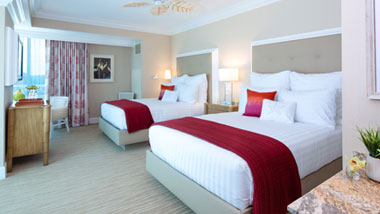 Margaritaville Resort Casino Premium Double Queen Hotel Room