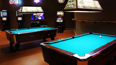 Game Room at Riverview Restaurant